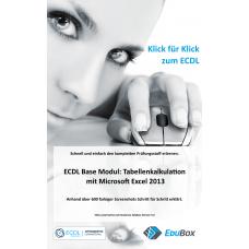 eBook: Tabellenkalkulation mit Excel 2013 – Klick für Klick zum ECDL