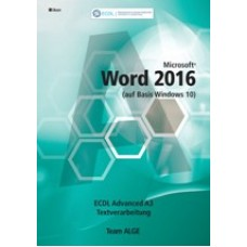 ECDL Advanced Word 2016 (Windows 10)