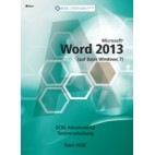 ECDL Advanced Word 2013 (Windows 7)