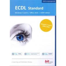 ECDL Standard Windows 7 und 8 / Office 2010 / GIMP Edition (DVD)